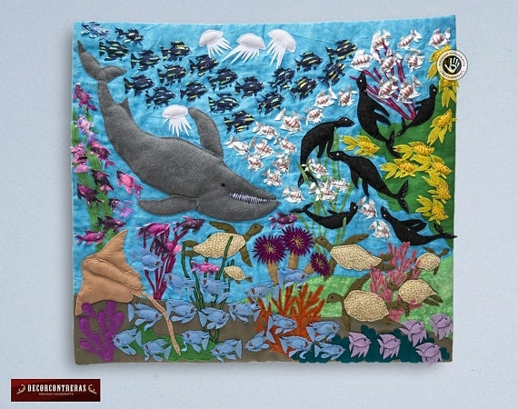Wall Hanging Quilt  (Image 14 of 15)