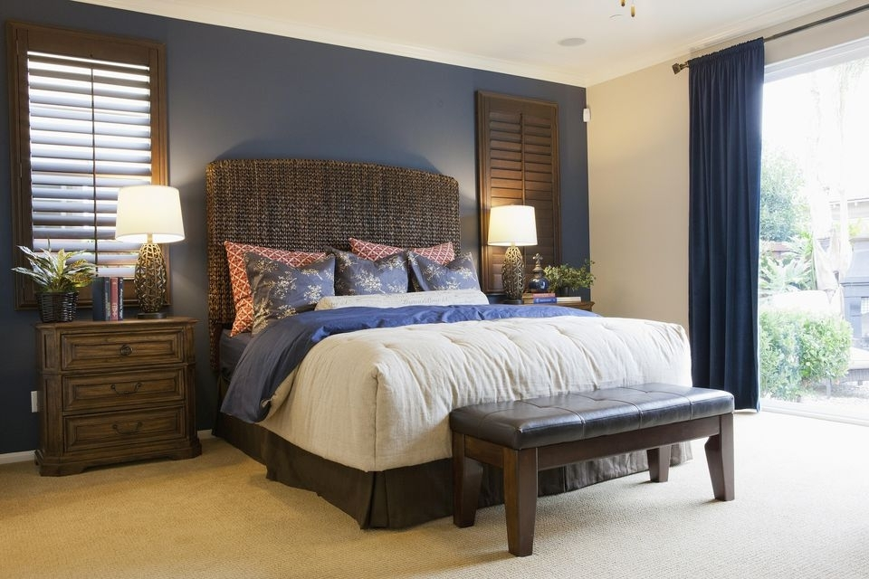 Wall In Bedroom Best 25 Black Accent Walls Ideas On Pinterest Inside Wall Accents For Bedroom (View 4 of 15)