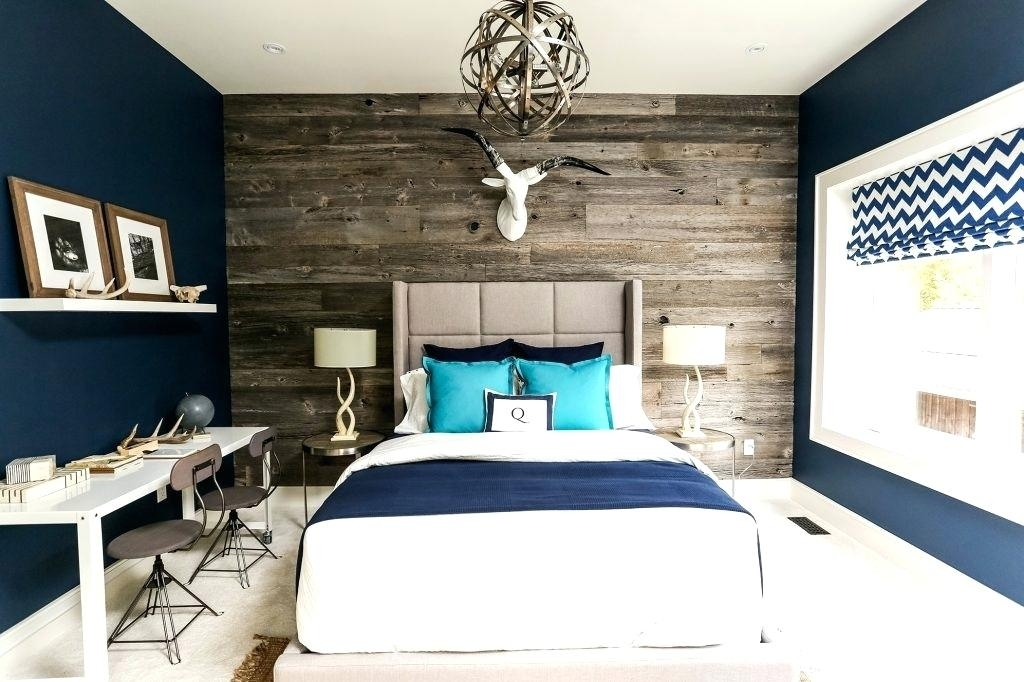 Wallpaper Accent Wall Bedroom – Parhouse (Image 9 of 15)