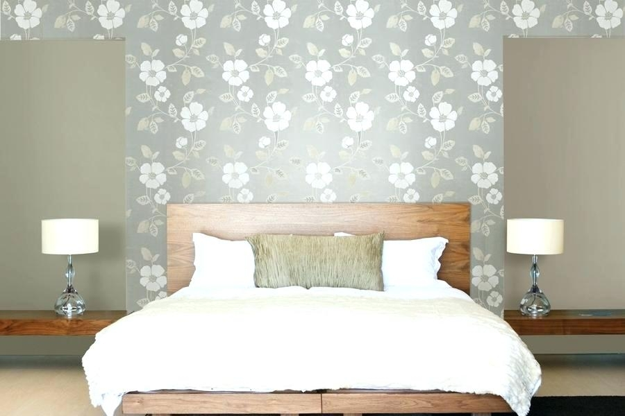 Wallpaper Accent Wall Master Bedroom Master Bedroom Wallpaper Intended For Wallpaper Bedroom Wall Accents (View 5 of 15)