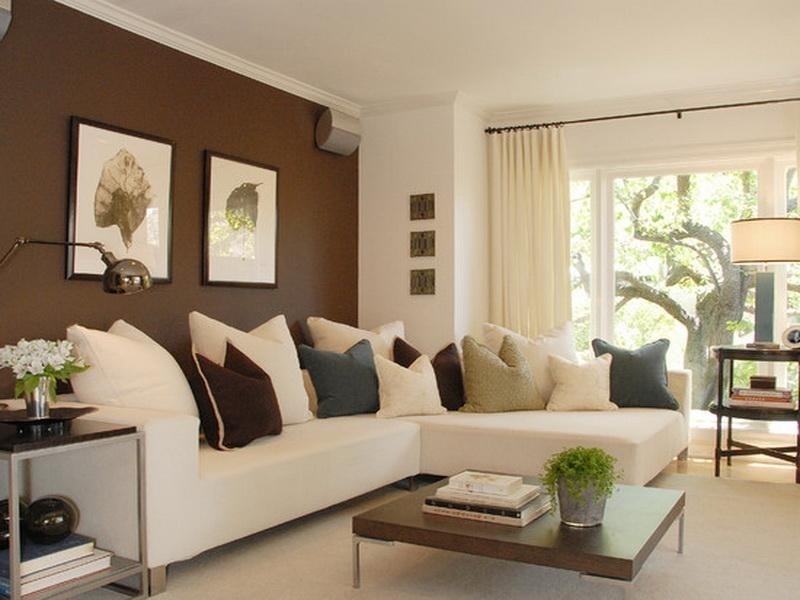 Walls : Modern Accent Wall Colors For Family Room How To Choose With Wall Accents Color Combinations (View 12 of 15)