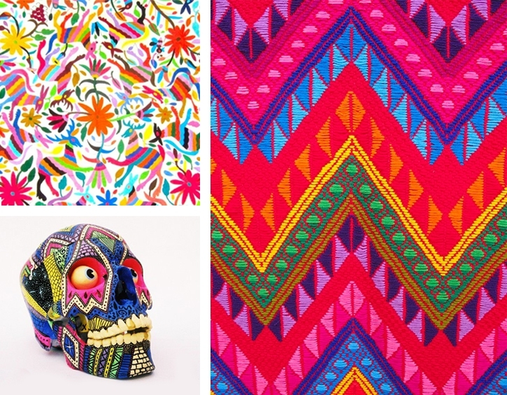 Wandering Threads: [ Accidentally Awesome ] An Ethnic Design Love Regarding Mexican Fabric Wall Art (Image 15 of 15)