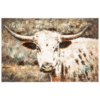 Watercolor Cow Canvas Wall Decor | Hobby Lobby | 1291392 Regarding Canvas Wall Art At Hobby Lobby (Image 14 of 15)