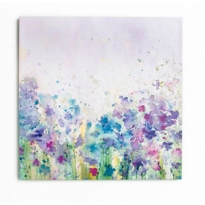 Watercolour Meadow Canvas | Rosehill – Spare Room | Pinterest Within Homebase Canvas Wall Art (Image 15 of 15)