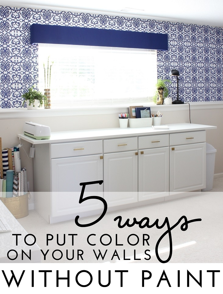 Ways To Color Your Walls Without Paint In Wall Accents Without Paint (Image 14 of 15)