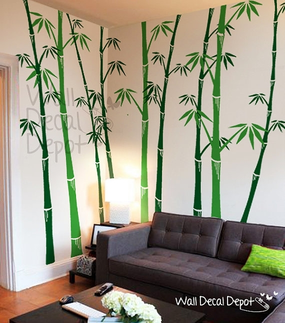 We Are Absolutely Loving This Bamboo Wall Decals Sticker Vinyl Art Throughout Vinyl Stickers Wall Accents (Image 13 of 15)
