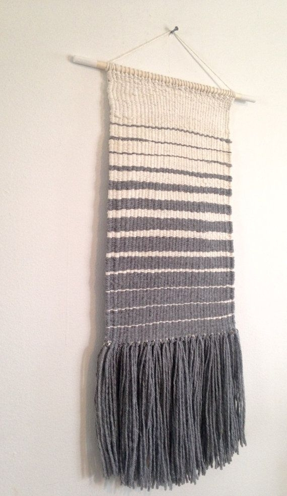 Weaved Wall Hanging Manual Loom Weaved Wallrowanstudios Inside Woven Fabric Wall Art (View 4 of 15)