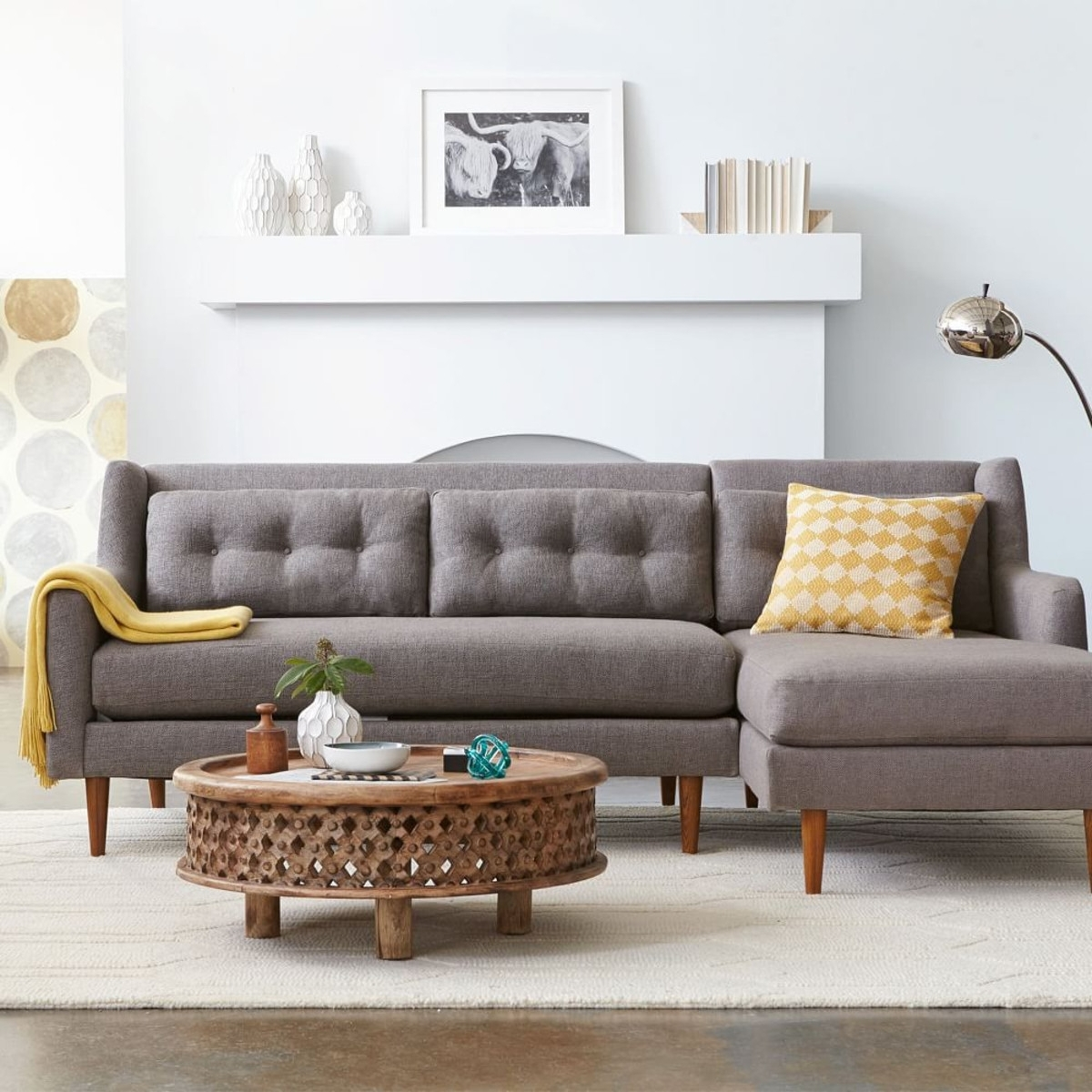 West Elm Sectional Sofa in West Elm Sectional Sofas