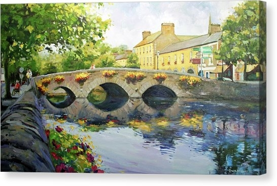 West Of Ireland Canvas Prints | Fine Art America Pertaining To Ireland Canvas Wall Art (View 14 of 15)
