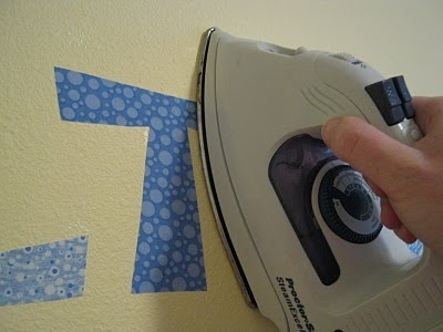 Who Knew!? You Can Actually Iron Fabric To The Wall And It Will With Regard To Iron Fabric Wall Art (Image 15 of 15)