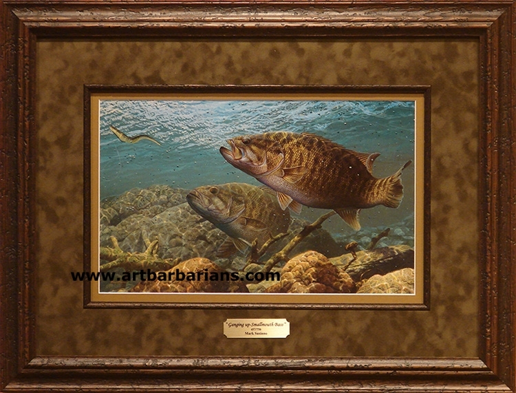 Wildlife Art Prints Plus Original Paintings With A Wide Selection For Bass Framed Art Prints (Image 13 of 15)