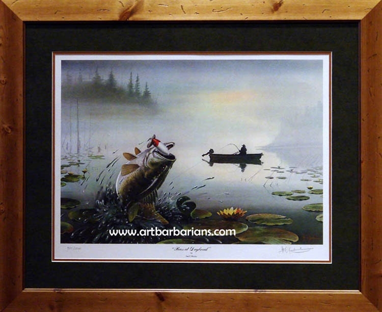 Wildlife Art Prints Plus Original Paintings With A Wide Selection Inside Bass Framed Art Prints (View 1 of 15)