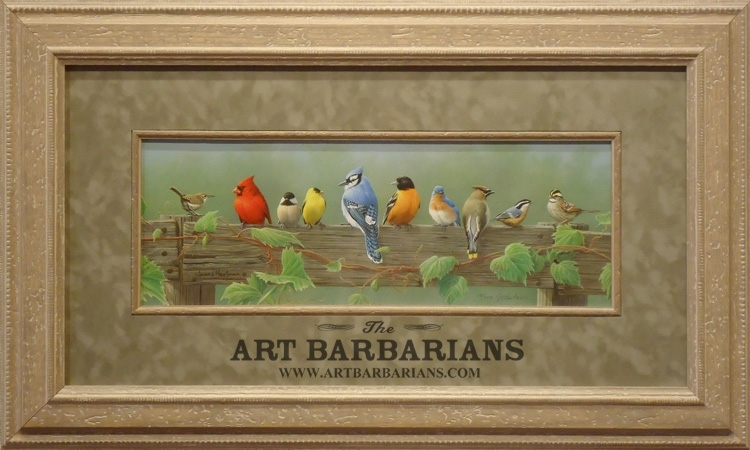Wildlife Art Prints Plus Original Paintings With A Wide Selection With Regard To Birds Framed Art Prints (Image 15 of 15)