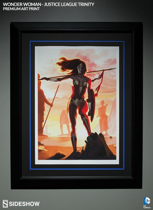 Wonder Woman Poster | Sideshow Collectibles For Framed Comic Art Prints (Image 15 of 15)