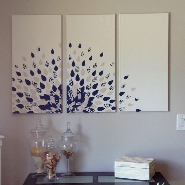 Wonderful Diy Wall Art Ideas Pictures – Best Inspiration Home Throughout Diy Wall Accents (Image 15 of 15)