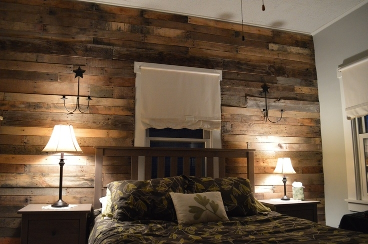 Wood Pallet Walls Accent Wall – Dma Homes | #69154 Within Wood Wall Accents (View 5 of 15)