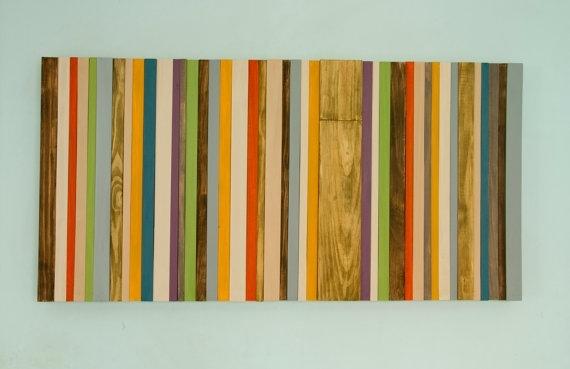 Wood Wall Art Mid Century Art Modern Wood Wall Art Throughout Mid Century Textile Wall Art (View 9 of 15)