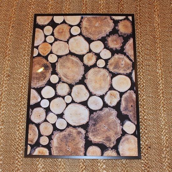 Wooden Logs Wall Art | Popsugar Home Inside Ikea Fabric Wall Art (View 14 of 15)