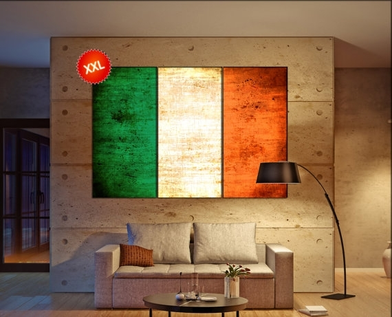 World Flags – Canvasconquest With Regard To Ireland Canvas Wall Art (Image 15 of 15)