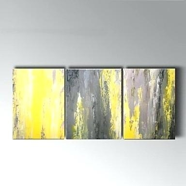 Yellow Grey Wall Art Large Wall Art Art Print Of Yellow Gray And pertaining to Yellow And Grey Abstract Wall Art
