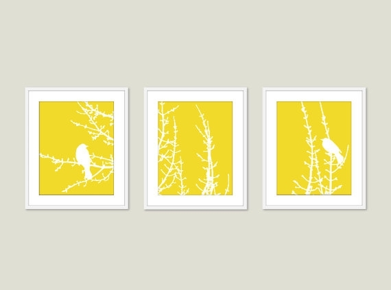 Yellow Wall Decor – Custom Decor With Regard To Yellow Wall Accents (Image 9 of 10)