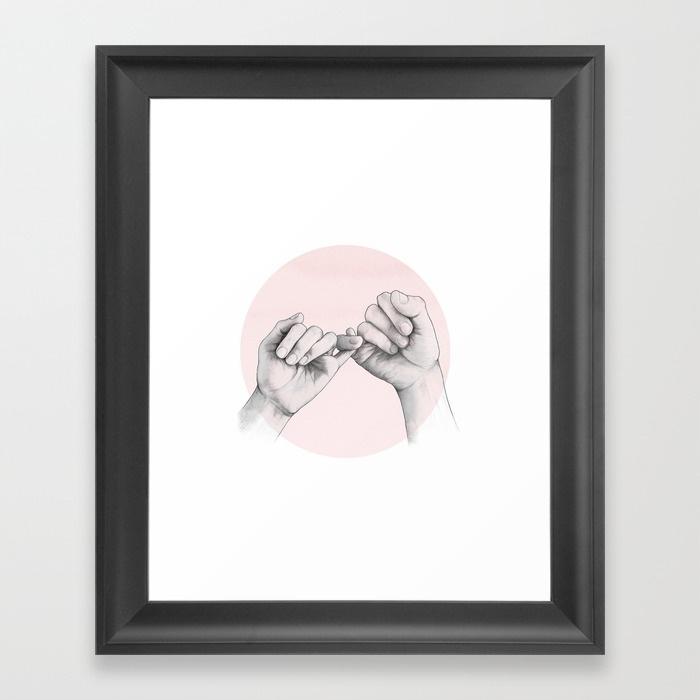 You Asleep Yet? Framed Art Printlauragraves | Society6 Regarding Contemporary Framed Art Prints (Image 15 of 15)