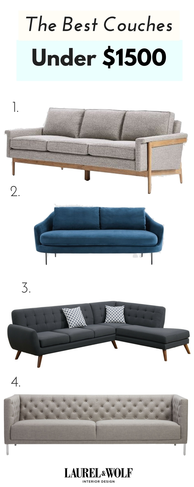 You Don't Need A $10K Couch To Netflix & Chill. From Sectionals To with regard to Sectional Sofas Under 1500