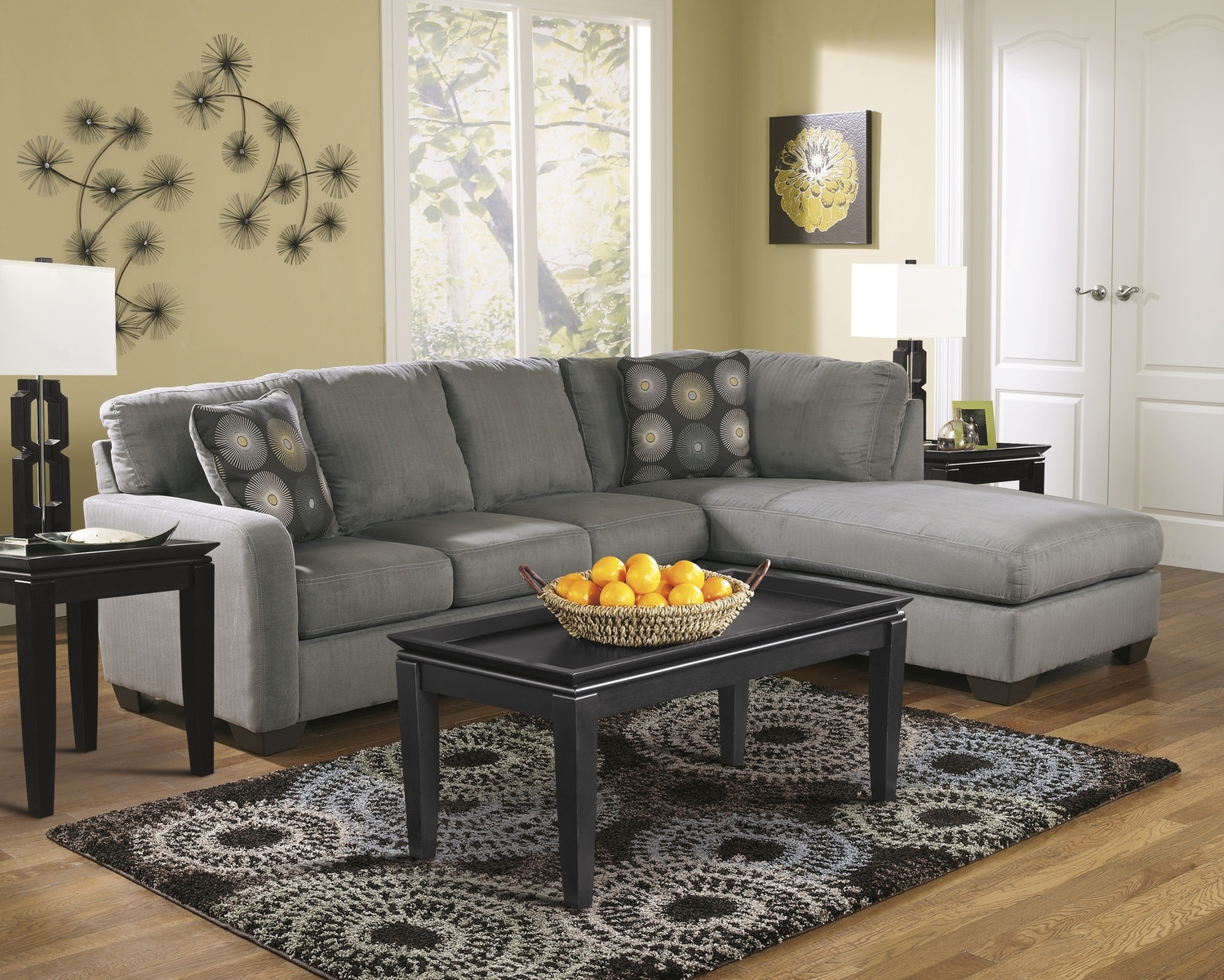 Zella 2 Piece Modular Sectional | Dock86 with regard to Dock 86 Sectional Sofas