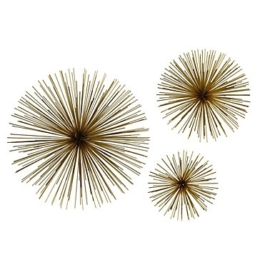 Zspmed Of Gold Wall Decor in Gold Wall Accents