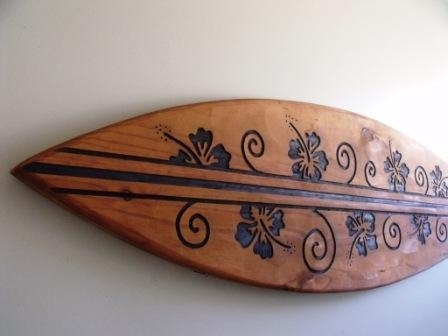 1.75M Surfboard Wall Art $289 - Pete Collins Collinswood Designs throughout Surfboard Wall Art