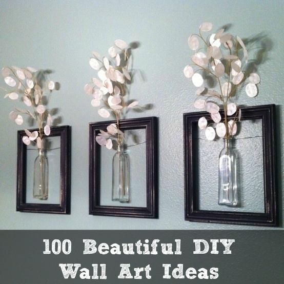 100 Beautiful Diy Wall Art Ideas Within Diy Wall Art (Image 1 of 10)