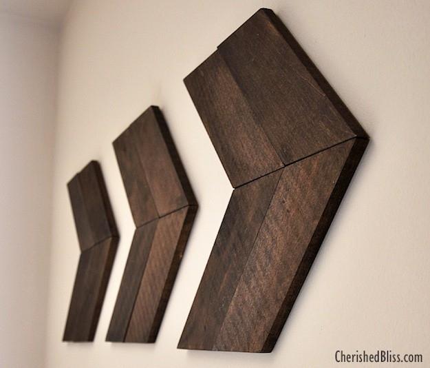 11 Creative Wood Wall Art Ideas | Weekend Diy Projects Regarding Diy Wood Wall Art (Image 1 of 25)