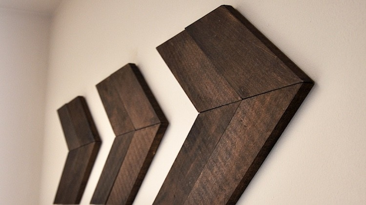 11 Creative Wood Wall Art Ideas | Weekend Diy Projects Within Wood Art Wall (Image 1 of 20)