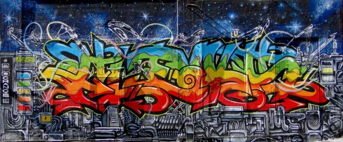 11 Places Where Graffiti Is Legal – Rurea Pertaining To Graffiti Wall Art (View 18 of 25)