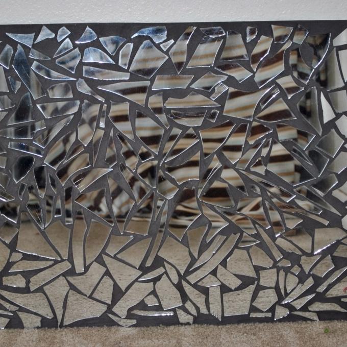 13 Mirror Mosaic Wall Art, Contemporary Mosaic Mirror Wall Decor Throughout Mirror Mosaic Wall Art (Image 1 of 25)
