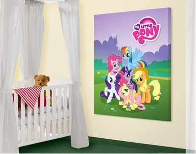 14 Best Room Ideas For My Little Pony Fans Images On Pinterest Intended For My Little Pony Wall Art (View 9 of 20)