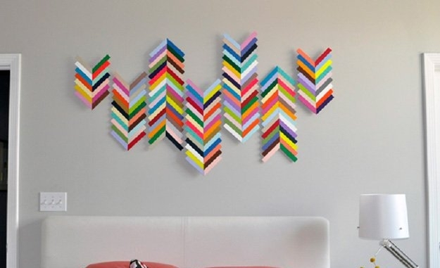 14 Easy Diy Art Projects For Your Walls – Style Motivation In Wall Art Diy (Image 2 of 25)