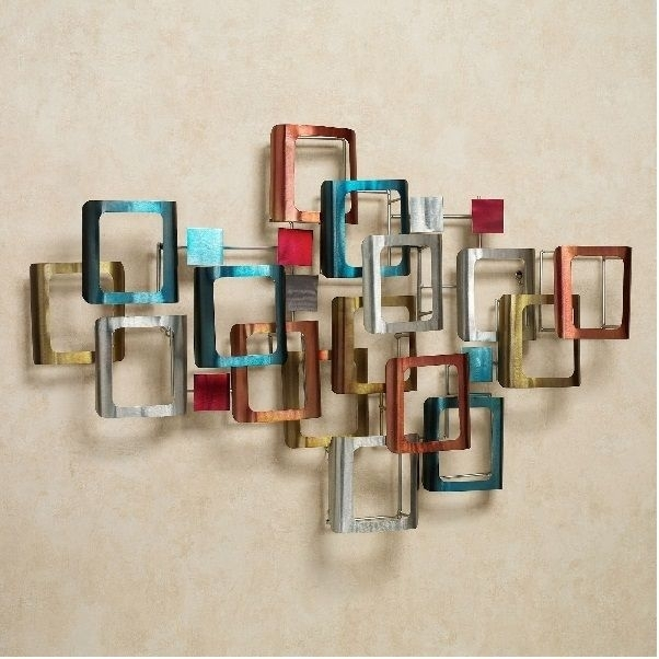 15 Beautiful Ideas Of Metal Wall Decor For Modern Homes | Pinterest in Geometric Metal Wall Art