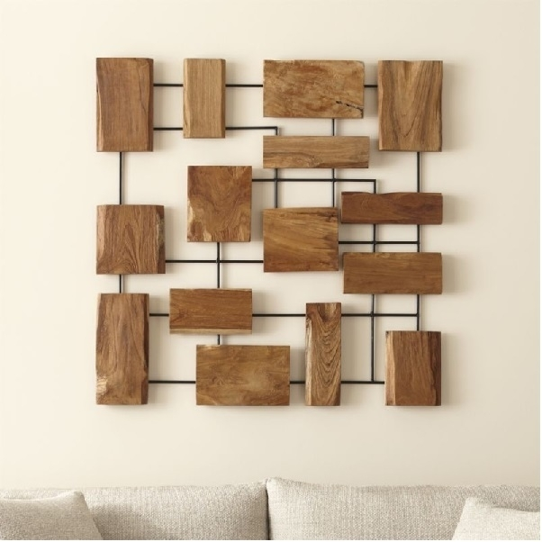 15 Beautiful Ideas Of Metal Wall Decor For Modern Homes with regard to Wood And Metal Wall Art