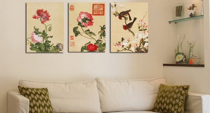 15+ Chinese Wall Art Designs, Ideas | Design Trends – Premium Psd Within Chinese Wall Art (View 9 of 25)
