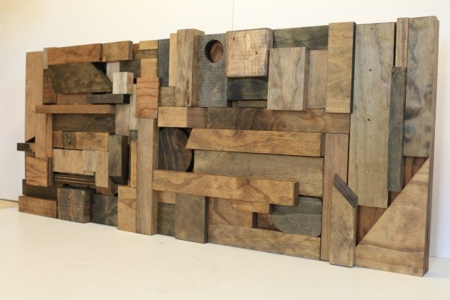 15 Extremely Easy Diy Wall Art Ideas For The Non Skilled Diyers Pertaining To Diy Wood Wall Art (Image 3 of 25)