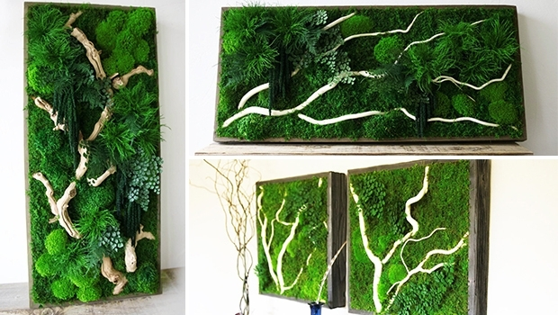 15 Spectacular Moss Wall Art Designs That Redefine The Living Wall With Moss Wall Art (Image 2 of 25)