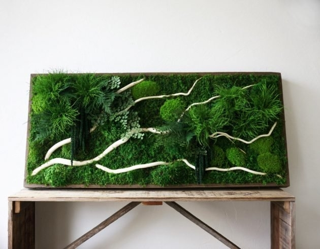 15 Spectacular Moss Wall Art Designs That Redefine The Living Wall Within Green Wall Art (Image 2 of 25)