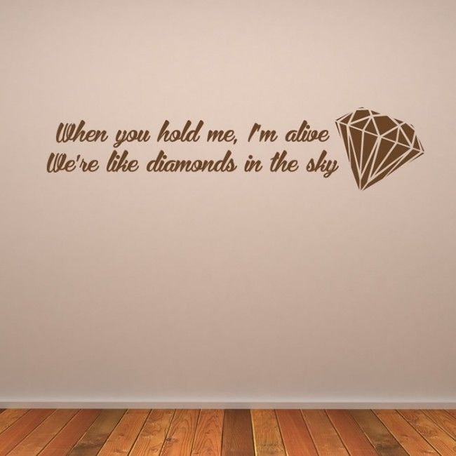 161 Best Song Lyric Wall Stickers Images On Pinterest Nirvana Wall inside Song Lyric Wall Art