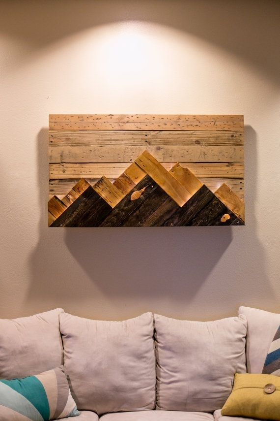 17 Best Diy Wall Art Projects:  (Image 5 of 25)