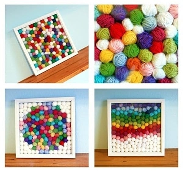 17 Stunning Diy Wall Art Projects You Will Love – Part 1 Intended For Diy Wall Art Projects (Image 6 of 25)