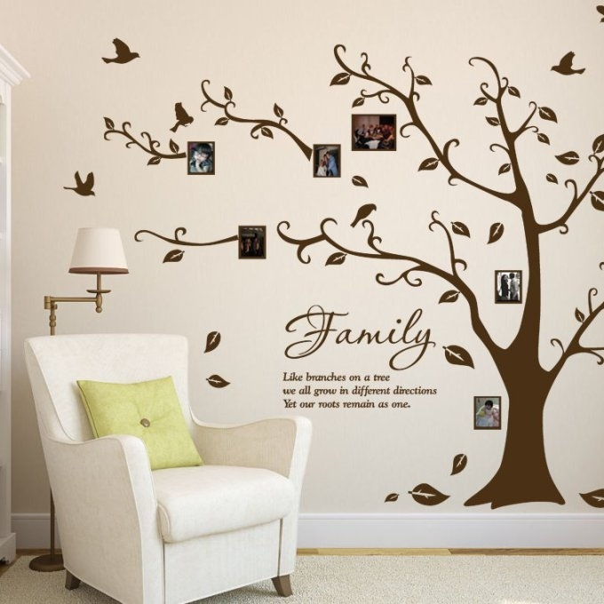 19 Walmart Wall Art Stickers, 20 Choices Of Walmart Wall Stickers Throughout Walmart Wall Art (View 16 of 20)