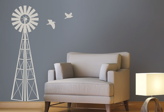1M Windmill - Twiggy for Windmill Wall Art