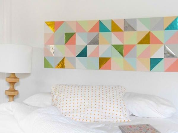 20 Diy Geometric Wall Art Decorations For A Vivid Modern Touch Regarding Geometric Wall Art (View 15 of 20)