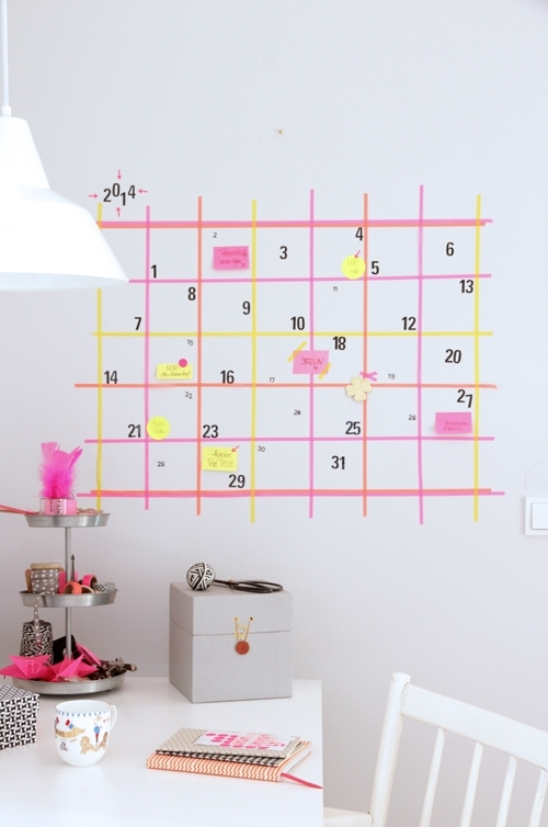 20+ Diy Washi Tape Wall Art Ideas With Washi Tape Wall Art (View 8 of 20)